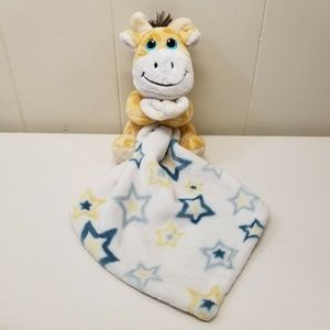 Little Beginnings Giraffe Security Blanket Lovey